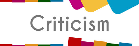 Criticism Abstract Colorful Background