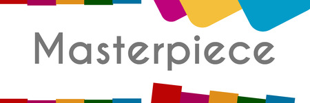 curator: Masterpiece Colorful Abstract Background