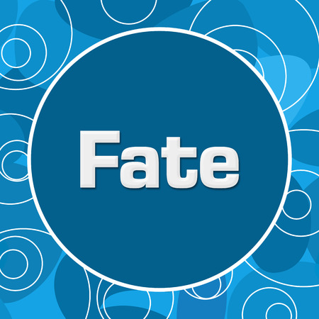Fate: Fate Blue Abstract Background