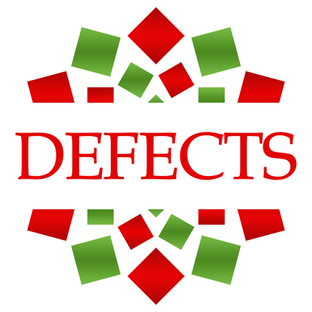 defects: Defects Green Red Circular