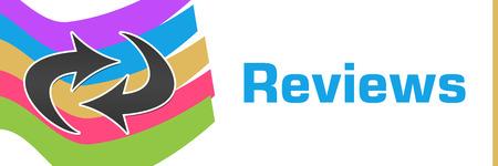 reviews: Reviews Colorful Waves Horizontal