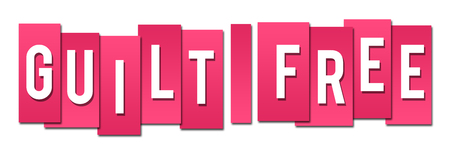 guilt: Guilt Free Pink Stripes Stock Photo