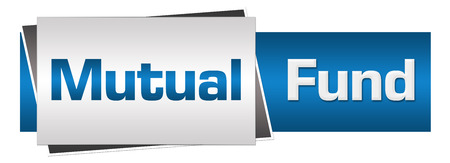 diversified: Mutual Fund Blue Grey Horizontal