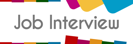 listings: Job Interview Colorful Abstract Background