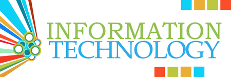 Information Technology Colorful Graphical Horizontal