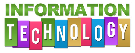 Information Technology Colorful Stripes