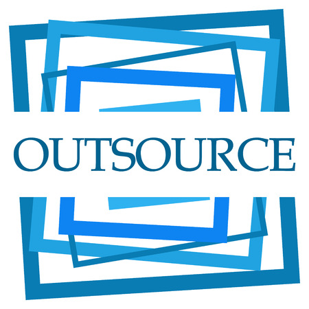 Outsource Blue Random Borders