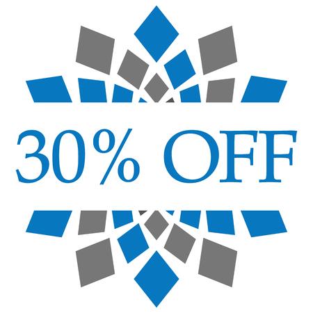 Discount 30 Percent Off
