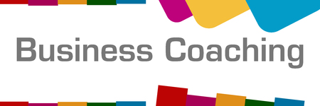 competences: Business Coaching Colorful Abstract Background