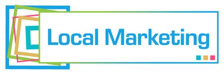listing: Local Marketing Colorful Squares Bar