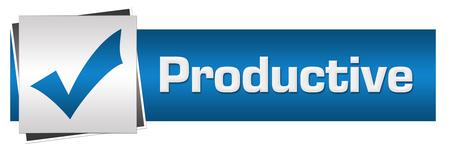 productive: Productive Blue Grey Horizontal
