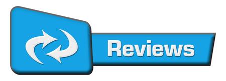 reviews: Reviews Blue Triangle Horizontal
