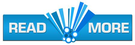 Read More Blue Graphic Center Stock Photo
