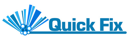 Quick Fix Blue Graphical Bar 版權商用圖片