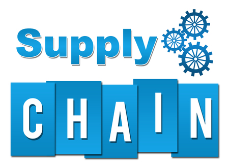 Supply Chain Professional Blue With Symbol
