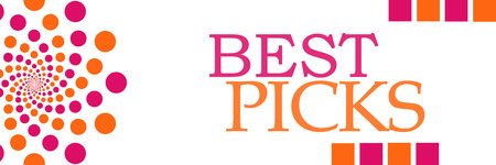 editors: Best Picks Pink Orange Dots Horizontal