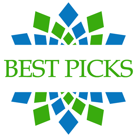 Best Picks Green Blue Circular
