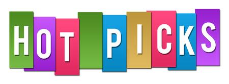 picks: Hot Picks Colorful Stripes