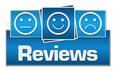 reviews: Reviews Blue Squares On Top