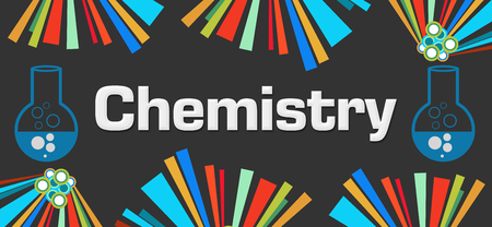 Chemistry Dark Colorful Elements Background