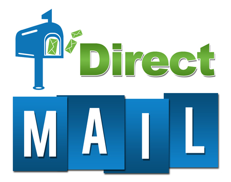 Direct Mail Professional Green Blue With Symbol