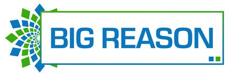 usp: Big Reason Green Blue Circular Bar