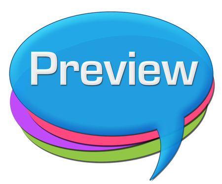 Preview Blue Colorful Comment Symbol