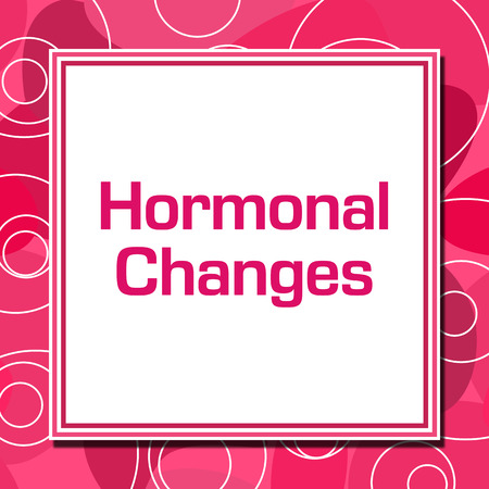 hormonal: Hormonal Changes Pink Rings Square