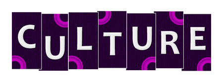 Culture Pink Purple Rings Stripes