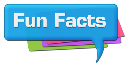 Fun Facts Blue Colorful Comment Symbol