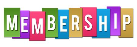 Membership Colorful Stripes