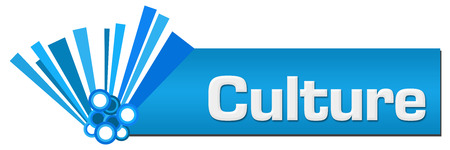 Culture Blue Graphical Horizontal