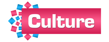 Culture Pink Blue Circular Bar