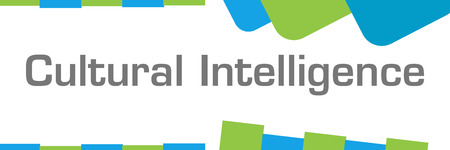 Cultural Intelligence Green Blue Shapes Horizontal