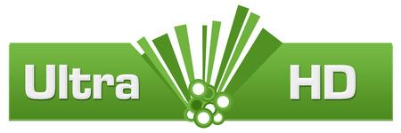 Ultra HD Green Graphic Center Stock Photo
