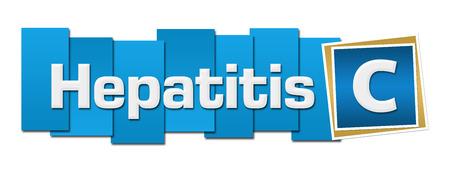 Hepatitis C Blue Squares Stripes