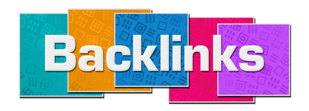 Backlinks Colorful Texture Blocks Stok Fotoğraf