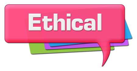 Ethical Pink Colorful Comment Symbol