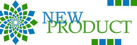New Product Green Blue Circular Horizontal