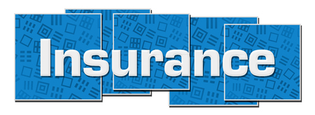 Insurance Blue Texture Blocks