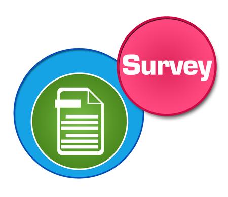Survey Colorful Circles