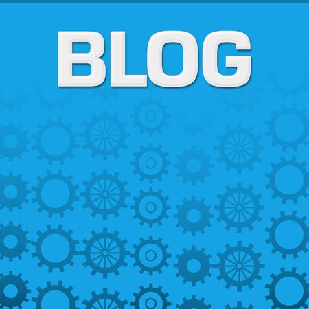 Blog Blue Gears Background