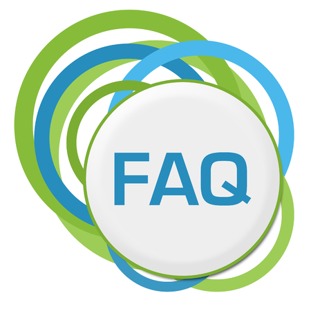 FAQ Random Green Blue Rings