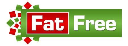 Fat Free Control Green Red Circular Bar