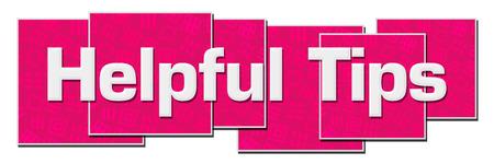 Consejos útiles Bloques de textura rosa
