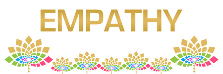 Empathy Colorful Floral Horizontal Stock Photo