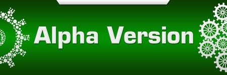 Alpha Version Green Both Side Gears
