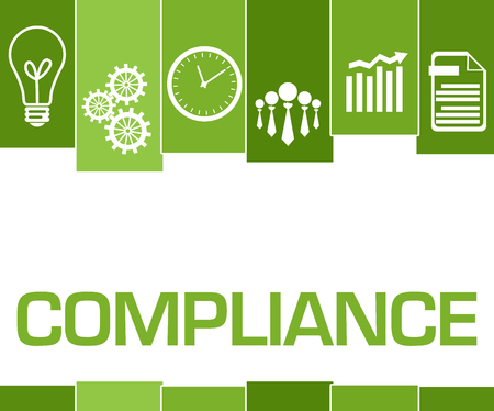 Compliance Green Stripes Symbols
