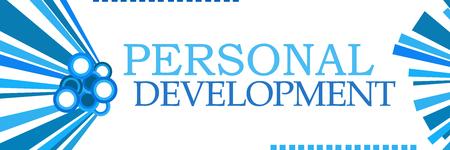 Personal Development Blue Graphics Horizontal