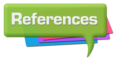 References Green Colorful Comment Symbol